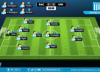 Racing vs Unión