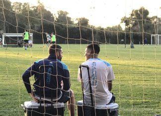 Lisandro López y Matías Zaracho
