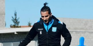 Diego González en Racing Club
