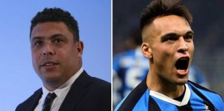 Ronaldo y Lautaro Martínez ex-Racing Club