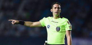 Nicolás Lamolina, árbitro de Racing Club