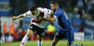 Gonzalo Montiel contra Racing Club