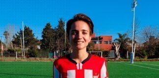 Luciana Bacci ex-Racing Club
