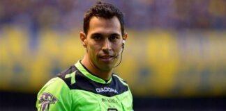 Facundo Tello, árbitro de Racing Club