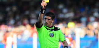 Andrés Merlos, árbitro de Racing Club