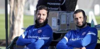 Gabriel Arias y Eugenio Mena Racing Club