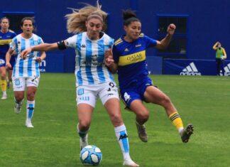 Racing Club vs Boca Fútbol Femenino