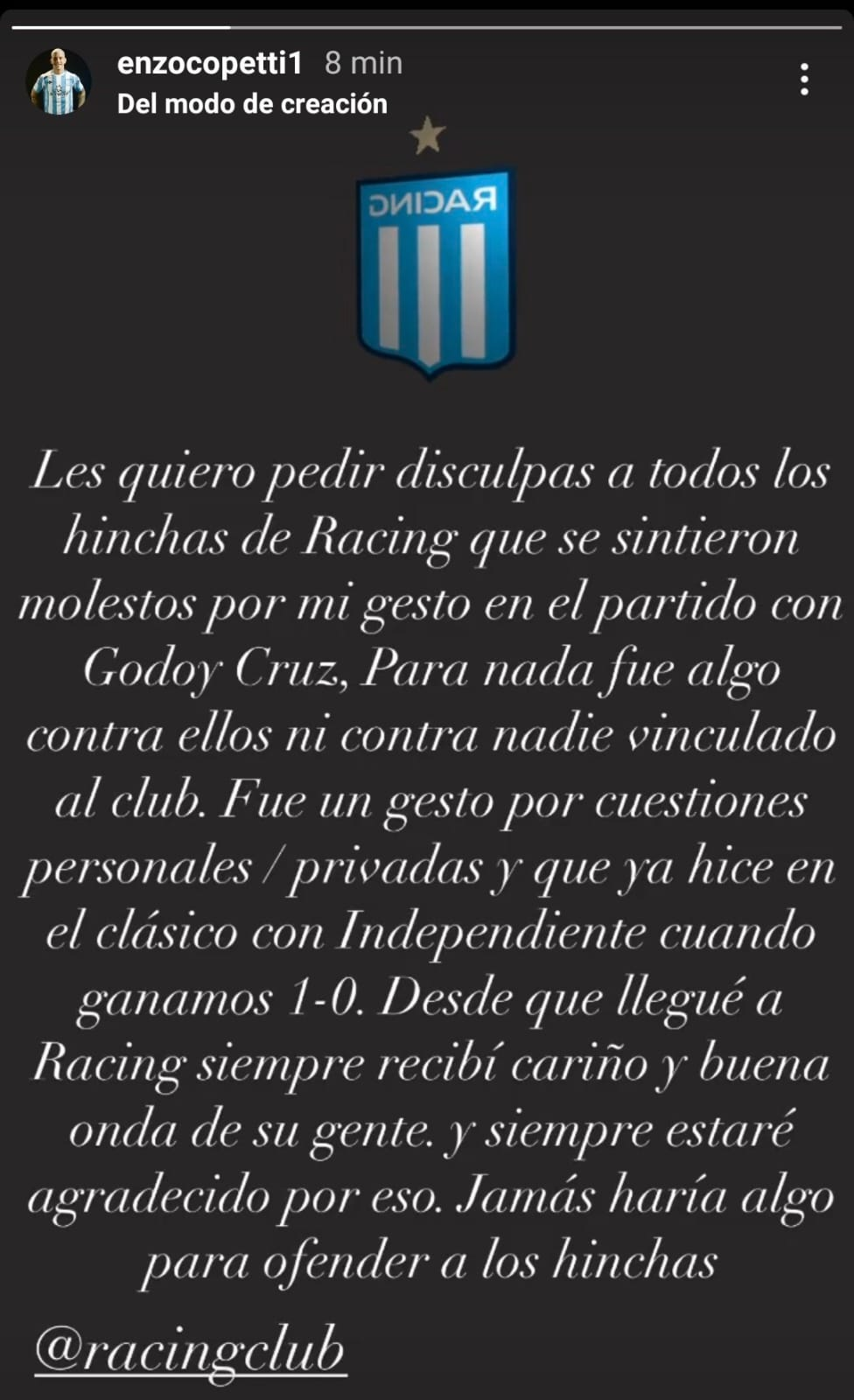 Enzo Copetti Racing Club