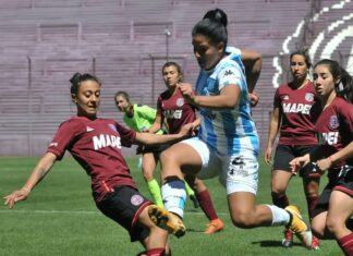 Fútbol Femenino Racing Club vs Lanús