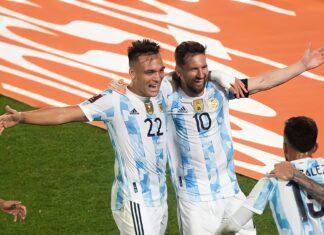 Lautaro Martínez y Rodrigo De Paul, ex-Racing